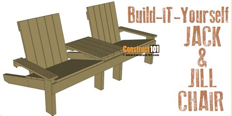 Jack-And-Jill-Chair-Plans