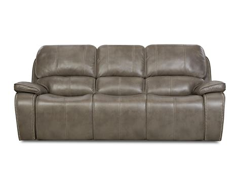 Jamestown Smoke Reclining Loveseat