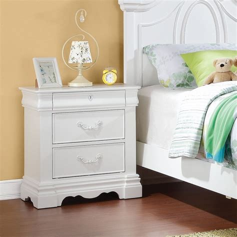 Janice 3 Drawer Nightstand By Harriet Bee