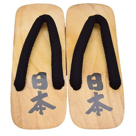 Japan Direct Japanese Geta Sandals 'Japan' Kanji Size; 3L (30cm)