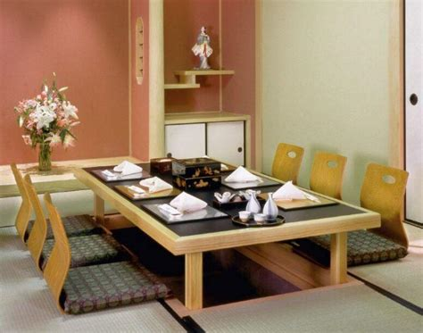 Japanese Dining Table Design