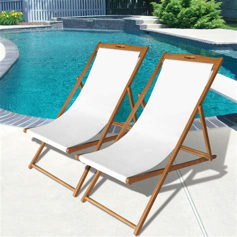 Japanese Folding Wood Beach Chair
