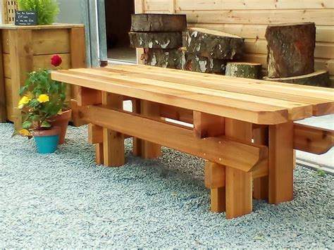Japanese Style Bench Plans