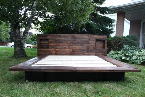 Japanese Style Platform Bed Diy