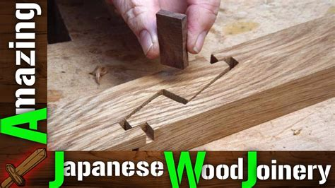 Japanese Woodworking Joints Youtube