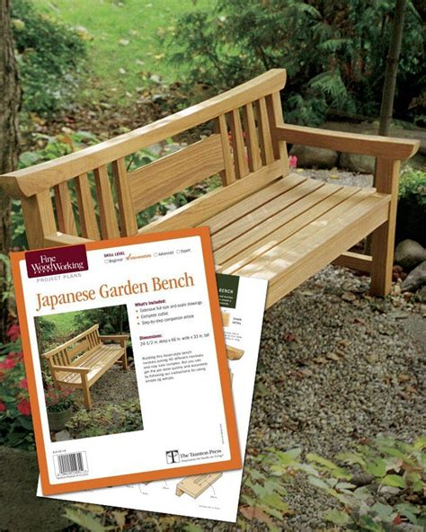 Japanese-Garden-Bench-Project-Plan