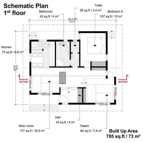 Japanese-Tiny-House-Plan