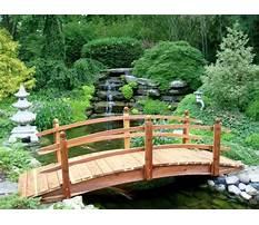 Best Japanese wooden bridge plans