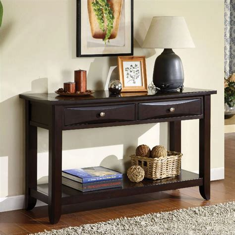 Jared Hall Console Table Espresso