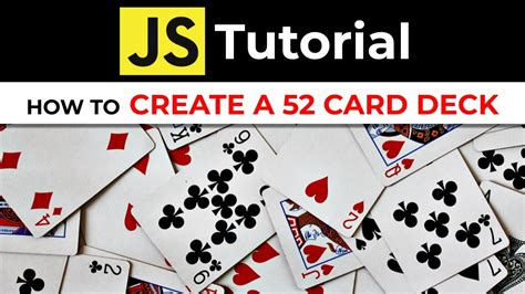 Javascript Build Deck Of Cards