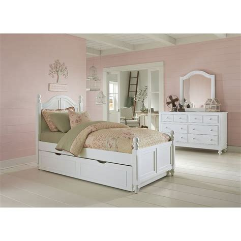 Javin Arch Panel Bed With Trundle