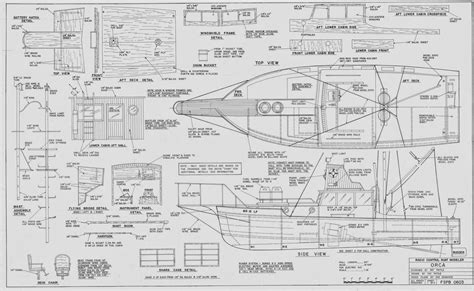 Jaws Orca Boat Plans