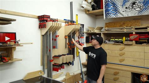 Jay Bates Clamp Rack Plan