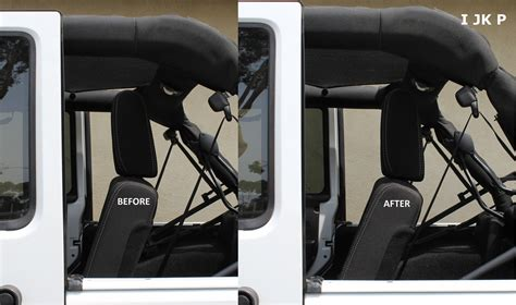 Jeep Back Seat Recline Kit
