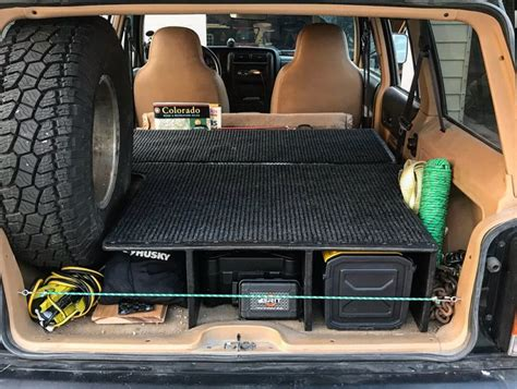 Jeep Cherokee Storage Diy Systems Engineering