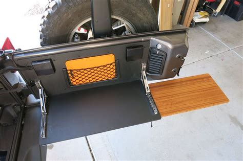 Jeep Jk Diy Tailgate Table
