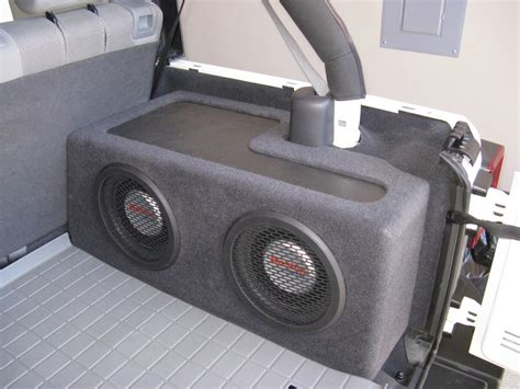 Jeep Wrangler Speaker Box Plans