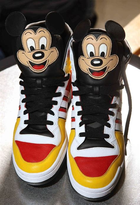 Jeremy Scott Adidas Mickey Mouse Sneakers