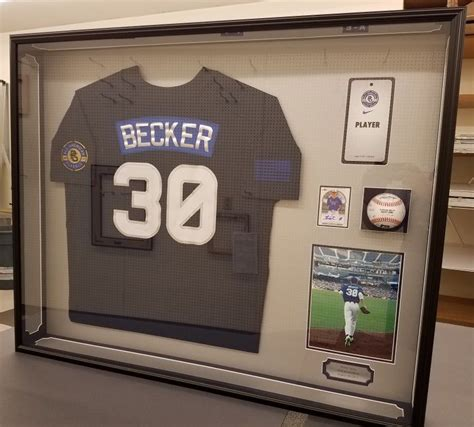 Jersey Shadow Box Frame Plans