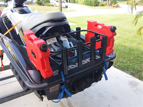 Jet Ski Fishing Rack Diy