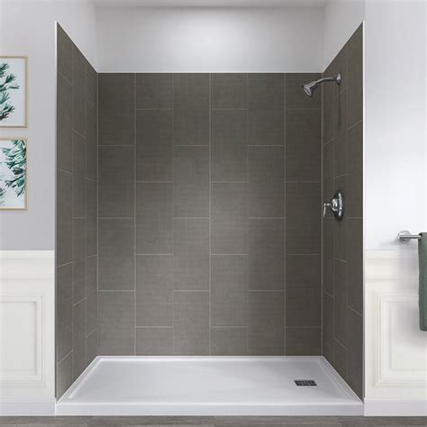 Jetcoat? 78 X 60 X 32 Five Panel Shower Wall By Hazelwood Home