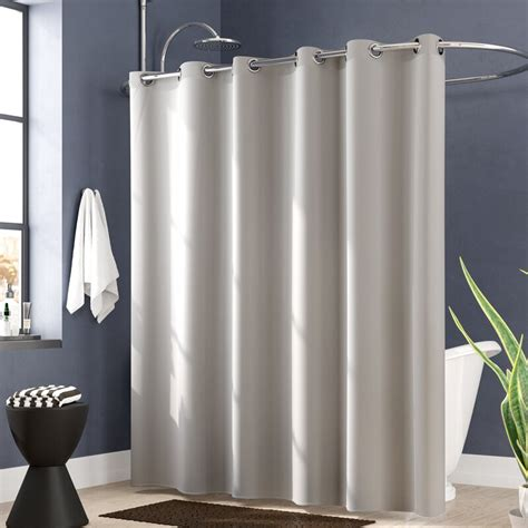 Jethro Solid Shower Curtain By Wade Logan
