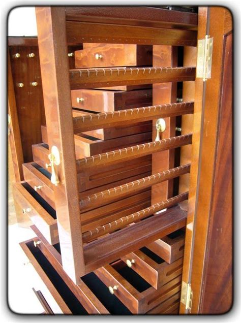Jewelry Armoire Building Plans