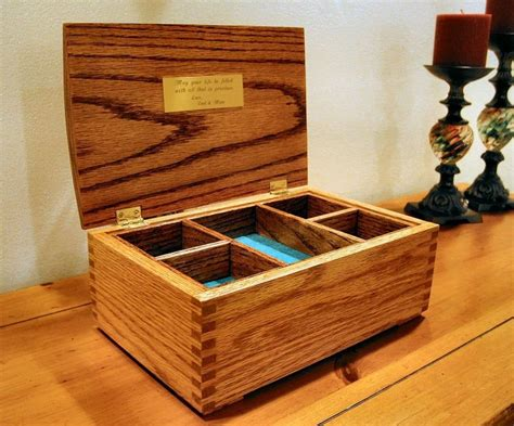 Jewelry Box Oak DIY