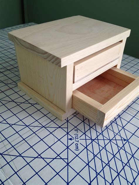 Jewelry Box Simple Woodworking Project Plans