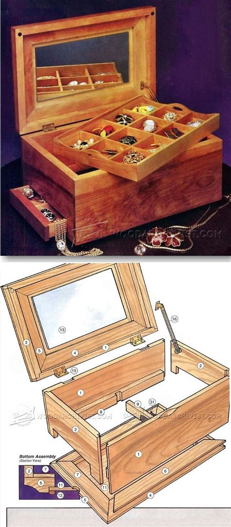Jewelry Box Woodworking Plans Woodsmith Tips Marking