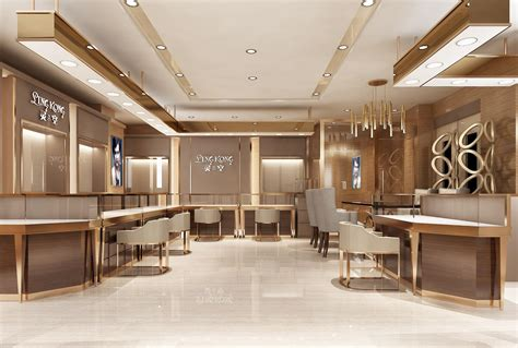Jewelry Shop Layout Design
