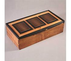 Best Jewelry box plans and designs