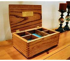 Best Jewelry wooden box plans