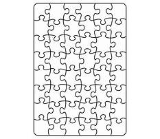 Best Jigsaw puzzle pattern vector