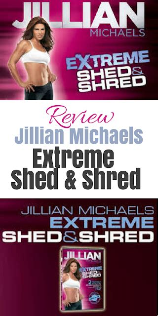 Jillian Michaels Extreme Shed & Shred Meal Plan