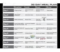 Best Jillian michaels one week shred diet plan