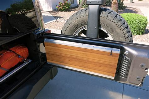 Jk Tailgate Table Diy With Shelf