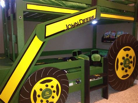 John Deere Bunk Bed Blueprints