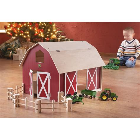 John Deere Toy Barns And Buildings