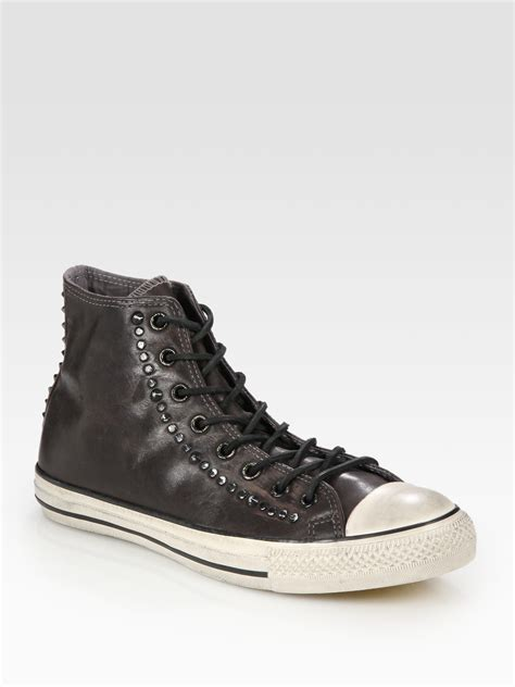 John Varvatos Converse Leather Sneakers