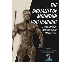 Best John meadows mountain dog training pdf.aspx