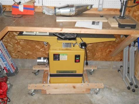Jointer Mobile Base Plans