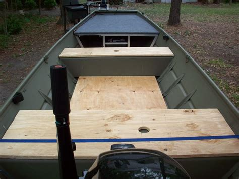 Jon Boat Deck Plans Examples