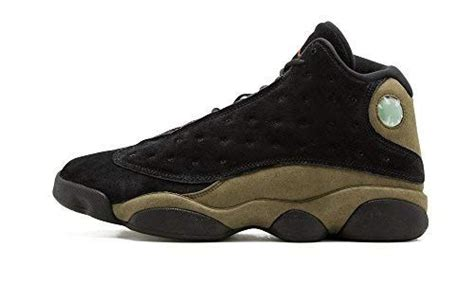 Jordan Air 13 Retro Olive Men Lifestyle Retro Basketball Casual Shoes - 12