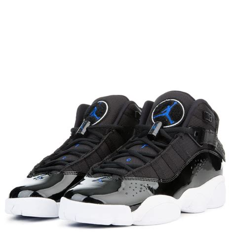 Jordan Men's 6 Rings, Black/Hyper Royal-White