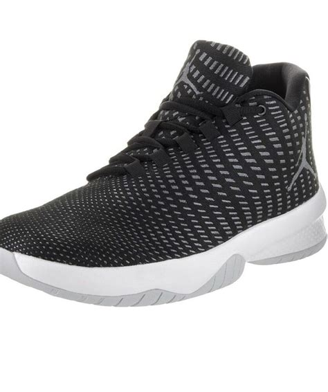 Jordan Men's B. Fly Black/White/Dark Grey Basketball Shoe 9 Men US