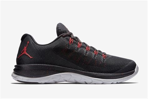 Jordan Mens Flight Runner 2 Black Red Athletic Basketball Shoes Sneakers