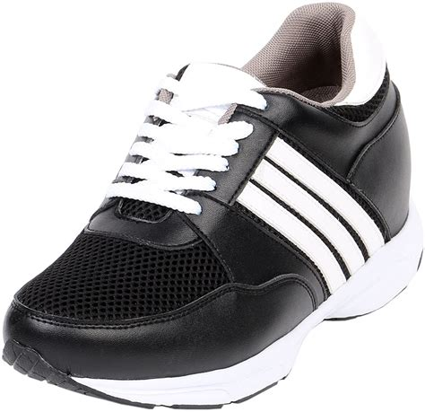 Jota height Gain by 3' Tall Mens Leather Tennis Shoe GKC022