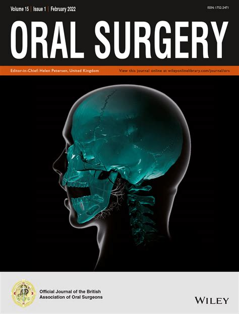 Journal Of Oral And Maxillofacial Surgery Home Page.