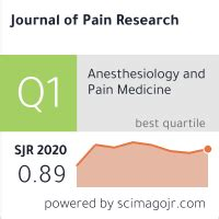 Journal Of Pain Research - Dove Press Open Access Publisher.
